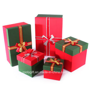 Quality Special Art Paper Ribbon Decoration Paper Gift Boxes pictures & photos