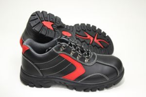 Geniune Leather Safety Shoes Geniune Leather with Steel Toe and Steel Midsole pictures & photos