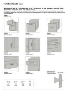 Good Quality Aluminium Cabinet Handle Furniture Handles pictures & photos