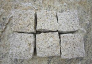 Yellow Granite, Cobblestone, Cubestone, Natural Yellow Granite, Paving Stone pictures & photos