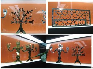 Sheet Metal Laser Cut/Aluminum Cut/Metal Engraving pictures & photos