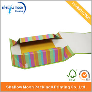 Customized Printing Foldable Cardboard Cosmetics Packaging Box (QYCI15243) pictures & photos