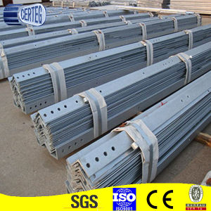 Hot dipped Galvanized Mild Steel Angle with holes pictures & photos