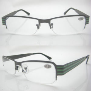 Hot Selling Slim Designed Stainless Reading Glasses pictures & photos