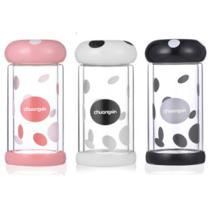 Double Wall 220ml Cute Mushroom Water Bottle