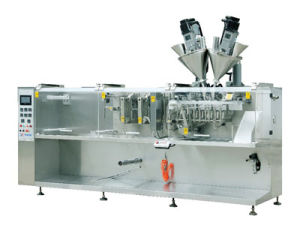 Automatic Bagged Packing Machine, Chemical Powder Water Granules Viscosity Bagged Packing Machine, Horizontal Bagged Machine, Chemical Bag Packaging Line pictures & photos