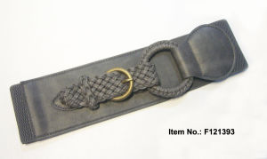Western Style Simple Weaving Belt pictures & photos
