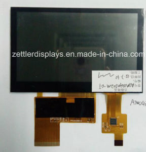 "Outdoor Use Highbrightness 4.3""TFT Screen with Capacitive Touch Panel: ATM0430d12b-CT pictures & photos"