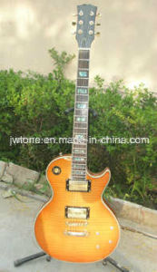 Flamed Maple Top Quality Lp Electric Guitar pictures & photos