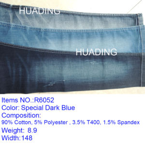 OEM Custom Cotton Denim Fabric for Jeans (R6052) pictures & photos