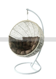 Mtc-212 Wicker Swing Chair Round Shape pictures & photos