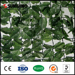 China Factory Artificial Green Leaves Vertical Garden pictures & photos
