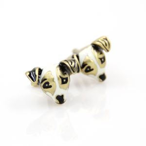 VAGULA Gemelos Dog Head Metal Cufflinks (HLK35140) pictures & photos