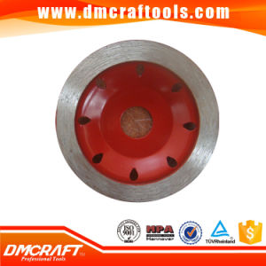 Continuous Rim Diamond Grinding Cup Wheels pictures & photos
