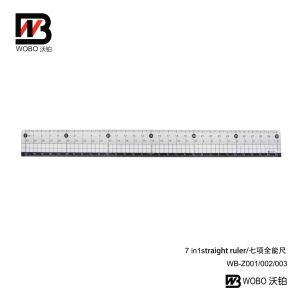 15 20 30cm Straight Flat Plastic Office Stationery Ruler pictures & photos