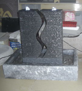 Indoor Black Granite Sculptured Fountains pictures & photos