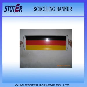 Fans Roller Promotional Scrolling Banner Flag pictures & photos