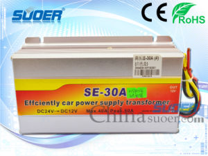 Suoer Single Ouput Converter 30A DC to DC Power Transformer (SE-30A (Neutral Packing )) pictures & photos