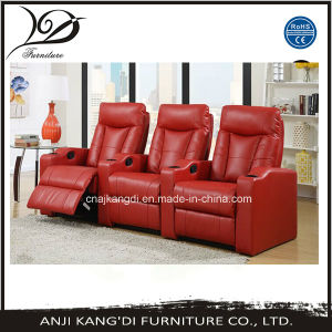 Home Theater Chair/Folding Cinema Chair/ Cinema Chair/Theater Chair/Okin Motor Theater Chair/Kd-Th7063red pictures & photos