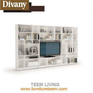 Modern Multifuctional Wooden TV Cabinet with Showcase pictures & photos