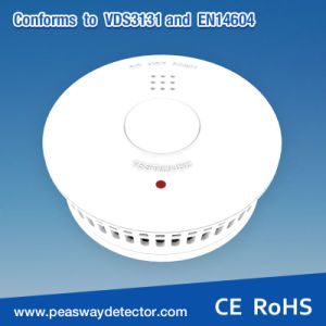 Peasway Smoke Detector Smoke Alarm with 3V Lithium Battery Pw-518-B3 pictures & photos