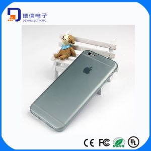 Simple Transparent TPU Mobile Phone Cover for iPhone pictures & photos