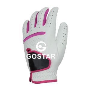 Cabretta Golf Glove for Women pictures & photos