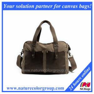 Fashion Shoulder Handbag with Leather Trims pictures & photos