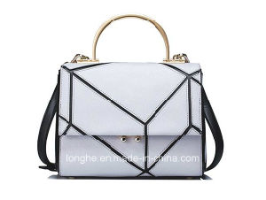 European Style Fashion Ladies PU Leather Handbag (ZX20338) pictures & photos