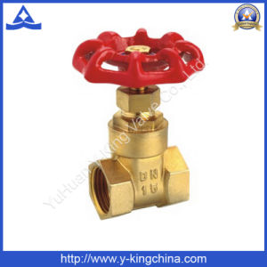 Brass Control Gate Water Valve with Iron/Aluminum Handle (YD-3006) pictures & photos