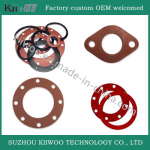 China Manufacture Silicone Rubber O-Ring Flat Washers Gaskets pictures & photos