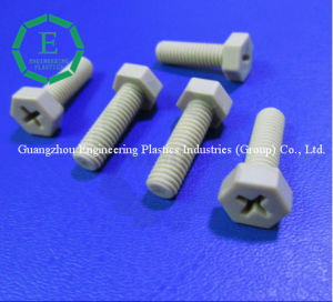 High Precise Customized Peek Plastic Screws pictures & photos
