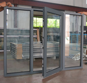 High Quality Aluminium Casement Window with Fix Pane K03058 pictures & photos
