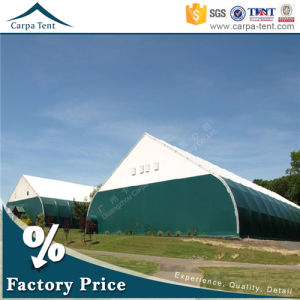 Clear Span Structure Outdoor Sport Event Marquee Curved Type Tent pictures & photos