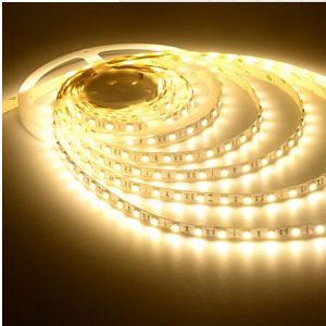 Ce and Rhos 60SMD5050 Warm White LED Strip pictures & photos