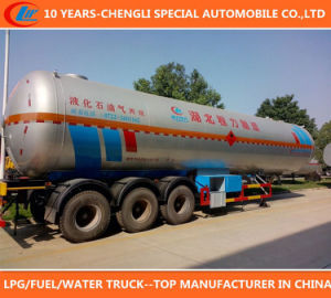 China Manufacturer Competitive Price 3 Axle 50cbm LPG Tank Trailer pictures & photos