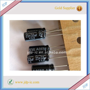 Hot Sell Capacitor 33UF-25V pictures & photos