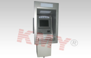 Wall Through ATM Kiosk Machine with Touch Screen pictures & photos