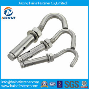 Hot Sale Ss304. A2-70 Steel C Type Expansion Anchor with Eye Hook Bolt Used in Water Heater pictures & photos