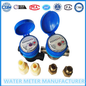 Single Jet Nylon Plastic Pulse Water Meter pictures & photos
