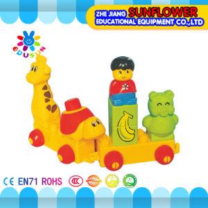 Children Plastic Desktop Toy Cartoon Animal Building Blocks pictures & photos