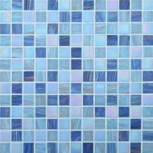 20*20mm Swimming Pool Mosaic, Mosaic Wall Tile, Crystal Glass Mosaic pictures & photos