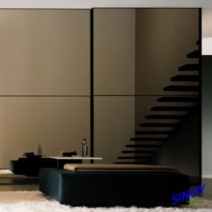 Silver Coated Golden Bronze or Euro Bronze Tinted Mirror Glass for Home Decor and Interior Applications pictures & photos