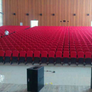 Conference Chair Auditorium Seat, Conference Hall Chairs, Push Back Plastic Auditorium Seat, Auditorium Seating, Auditorium Chair (R-6166) pictures & photos