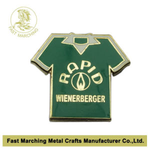 T Shirt Shaped Enamel Lapel Pin