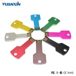 Multi Color Key USB Flash Drive with Custom Logo