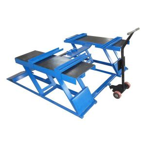 Factory Price Ce Certificate Garage Lifting Equipment Scissor Car Lift pictures & photos