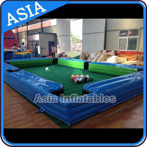 Inflatable Snookball Game/Inflatable Billiards Table Football Snooker pictures & photos