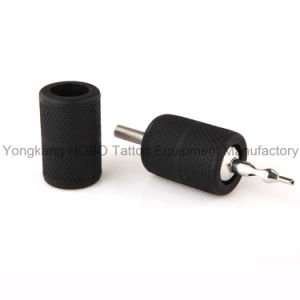 Newest Tattoo Grips Accessories Non-Slip Soft Silicone Tattoo Grip Holder Covers pictures & photos