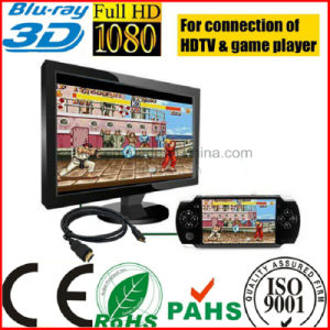 Gold Plated Game Player HDTV xBox 360 HDMI Cable pictures & photos